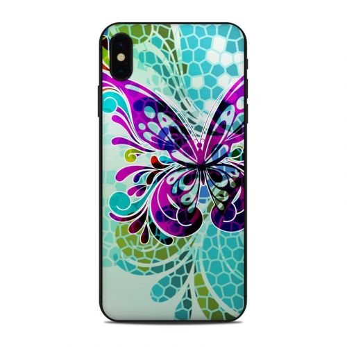 Butterfly Glass iPhone XS Max Skin
