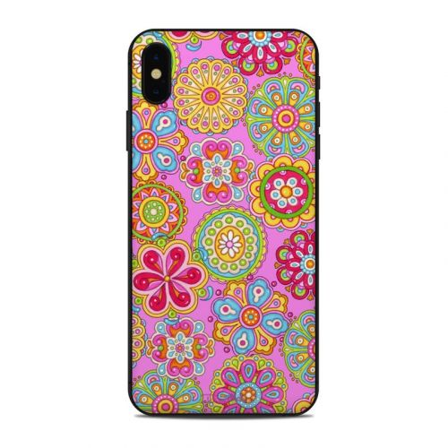 Bright Flowers iPhone XS Max Skin