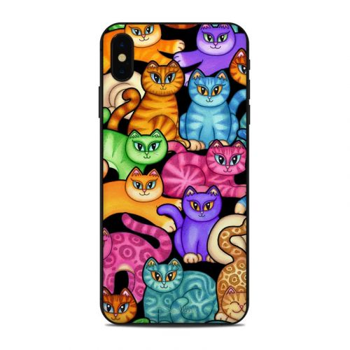 Colorful Kittens iPhone XS Max Skin