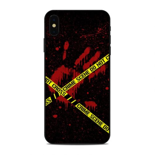 Crime Scene iPhone XS Max Skin