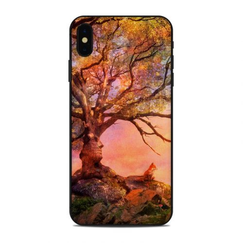 Fox Sunset iPhone XS Max Skin