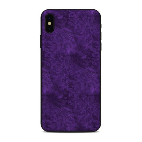 Purple Lacquer iPhone XS Max Skin