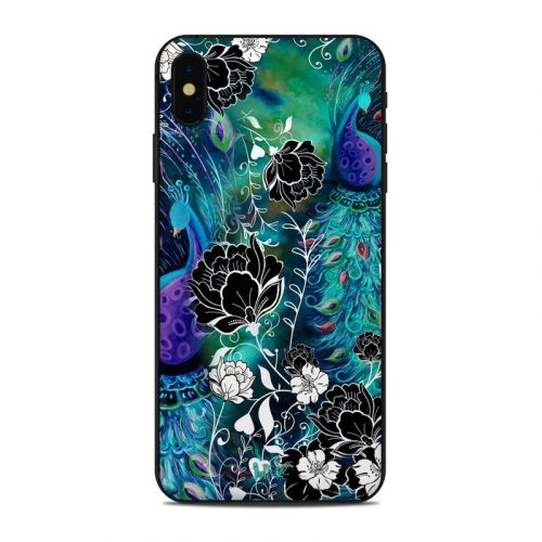 Peacock Garden iPhone XS Max Skin