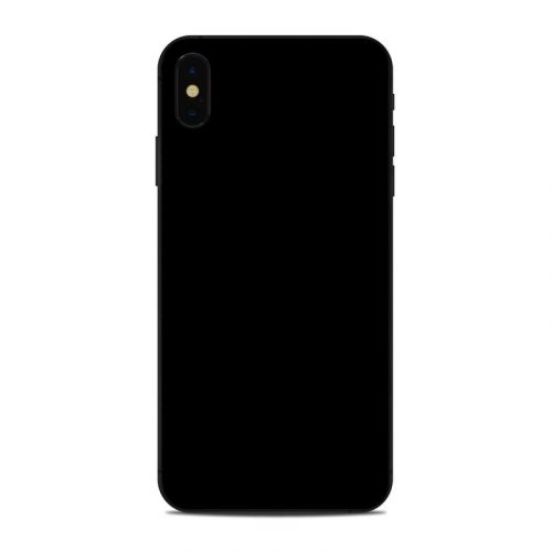 Solid State Black iPhone XS Max Skin