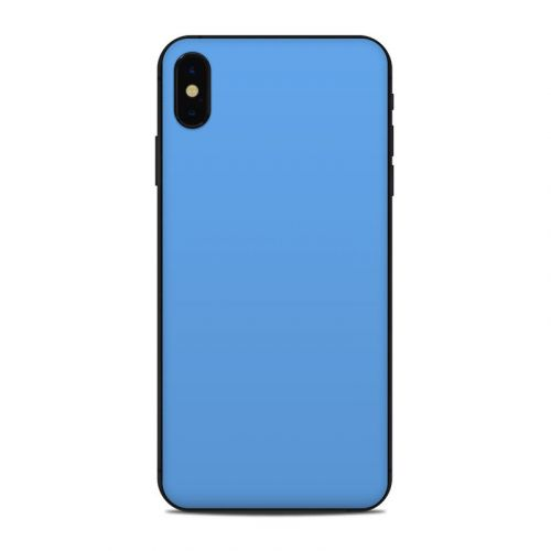 Solid State Blue iPhone XS Max Skin