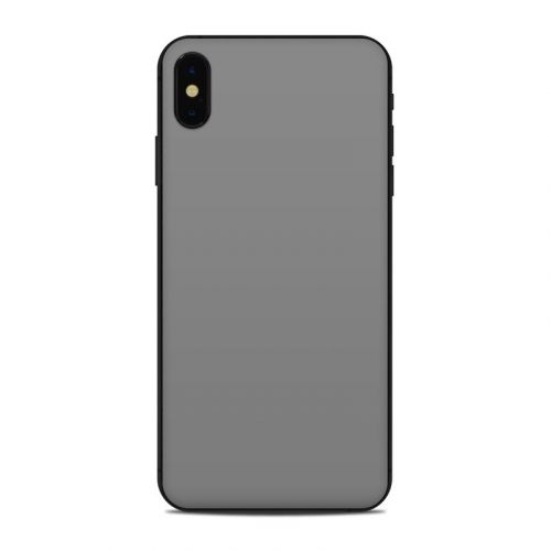 Solid State Grey iPhone XS Max Skin
