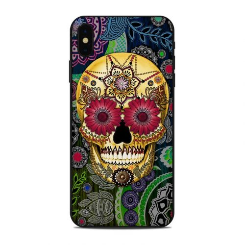 Sugar Skull Paisley iPhone XS Max Skin