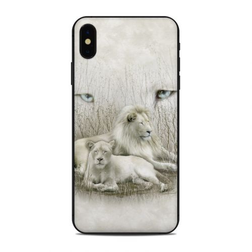 White Lion iPhone XS Max Skin