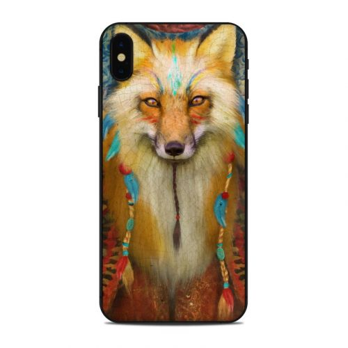Wise Fox iPhone XS Max Skin
