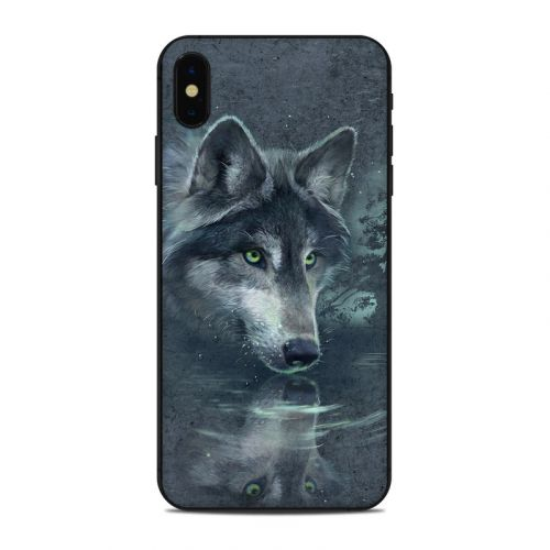Wolf Reflection iPhone XS Max Skin