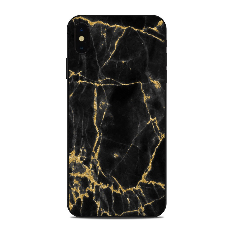 Black Gold Marble Iphone Xs Max Skin Istyles