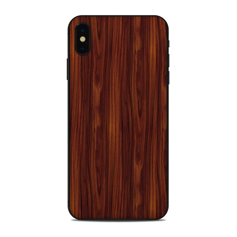 Dark Rosewood iPhone XS Max Skin