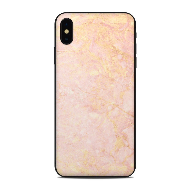 competitive price 0e07d 13b38 Rose Gold Marble iPhone XS Max Skin