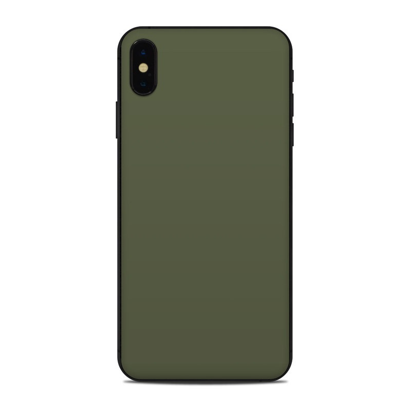 iPhone XS Max Skin design of Green, Brown, Text, Yellow, Grass, Font, Pattern, Beige with green colors
