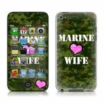 Marine Wife iPod touch 4th Gen Skin