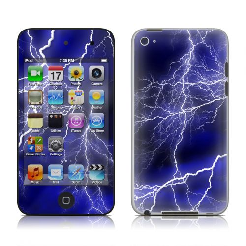 Apocalypse Blue iPod touch 4th Gen Skin