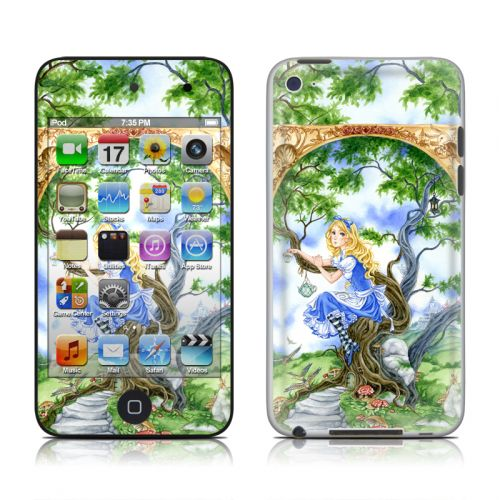 Alice's Tea Time iPod touch 4th Gen Skin