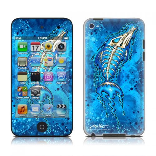 Barracuda Bones iPod touch 4th Gen Skin