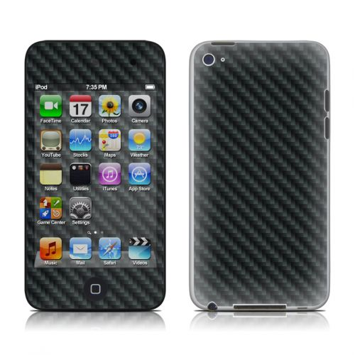 Carbon iPod touch 4th Gen Skin