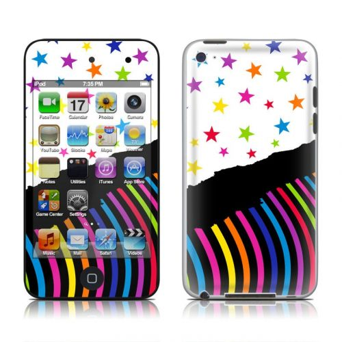 Color Wave iPod touch 4th Gen Skin