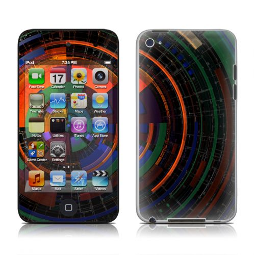 Color Wheel iPod touch 4th Gen Skin