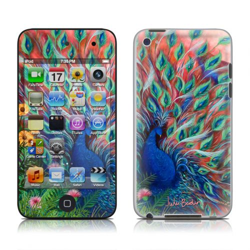 Coral Peacock iPod touch 4th Gen Skin
