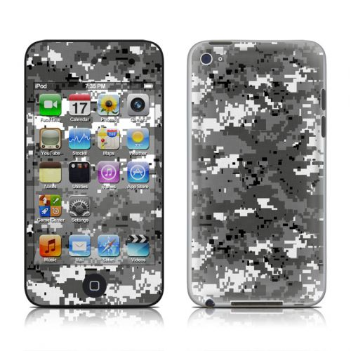 Digital Urban Camo iPod touch 4th Gen Skin