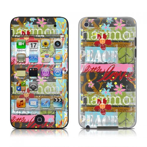 Harmony and Love iPod touch 4th Gen Skin