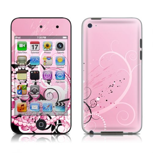 Her Abstraction iPod touch 4th Gen Skin
