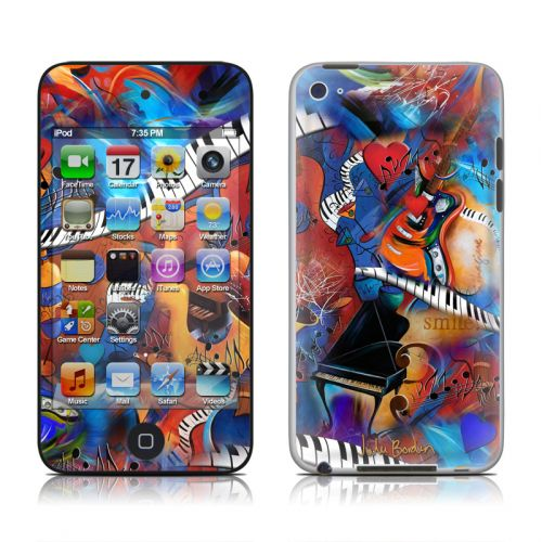 Music Madness iPod touch 4th Gen Skin