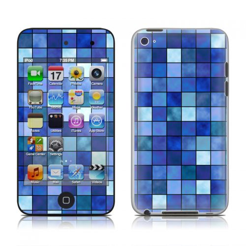 Blue Mosaic iPod touch 4th Gen Skin