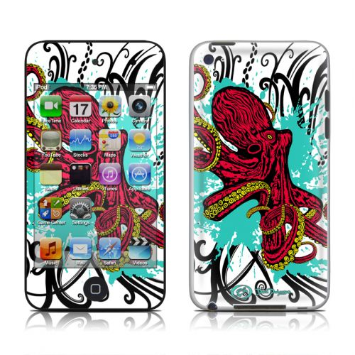 Octopus iPod touch 4th Gen Skin