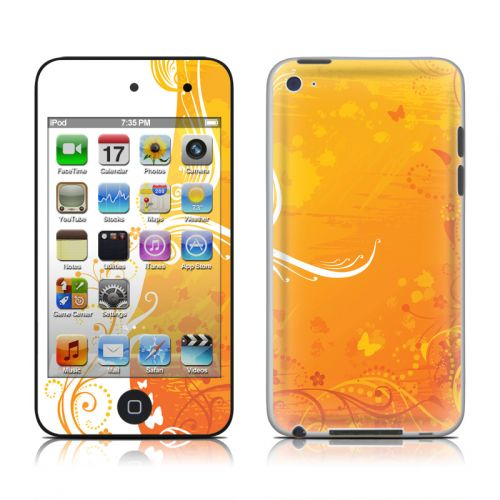 Orange Crush iPod touch 4th Gen Skin