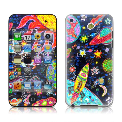 Out to Space iPod touch 4th Gen Skin