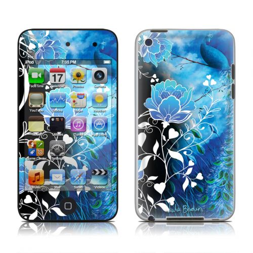 Peacock Sky iPod touch 4th Gen Skin