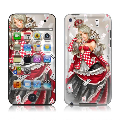 Queen Of Cards iPod touch 4th Gen Skin