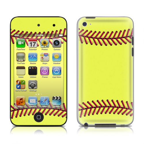 Softball iPod touch 4th Gen Skin