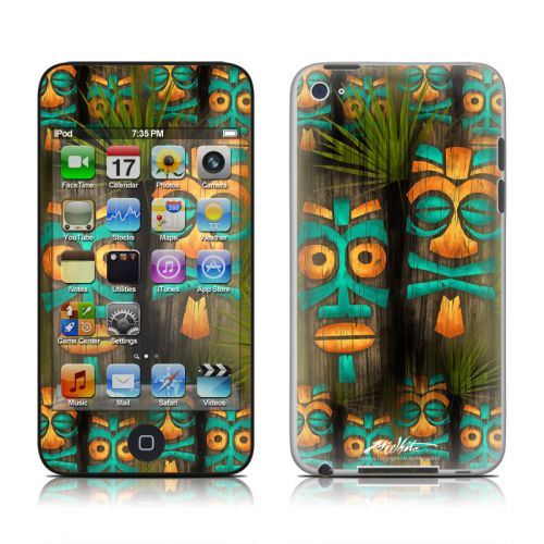 Tiki Abu iPod touch 4th Gen Skin