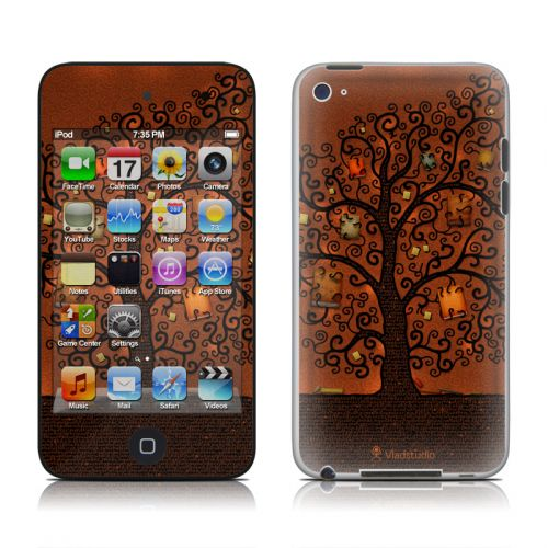 Tree Of Books iPod touch 4th Gen Skin