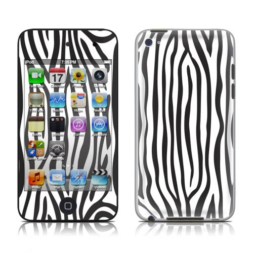 Zebra Stripes iPod touch 4th Gen Skin