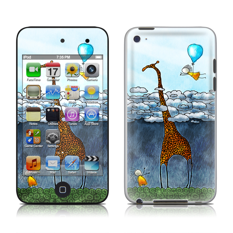 Above The Clouds iPod touch 4th Gen Skin