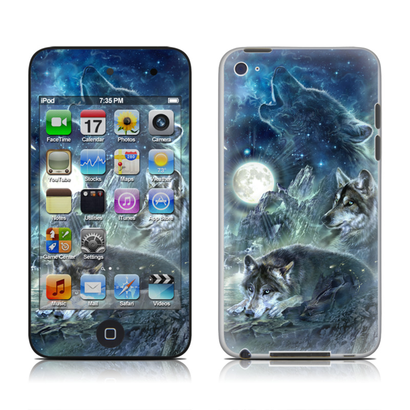 Bark At The Moon iPod touch 4th Gen Skin