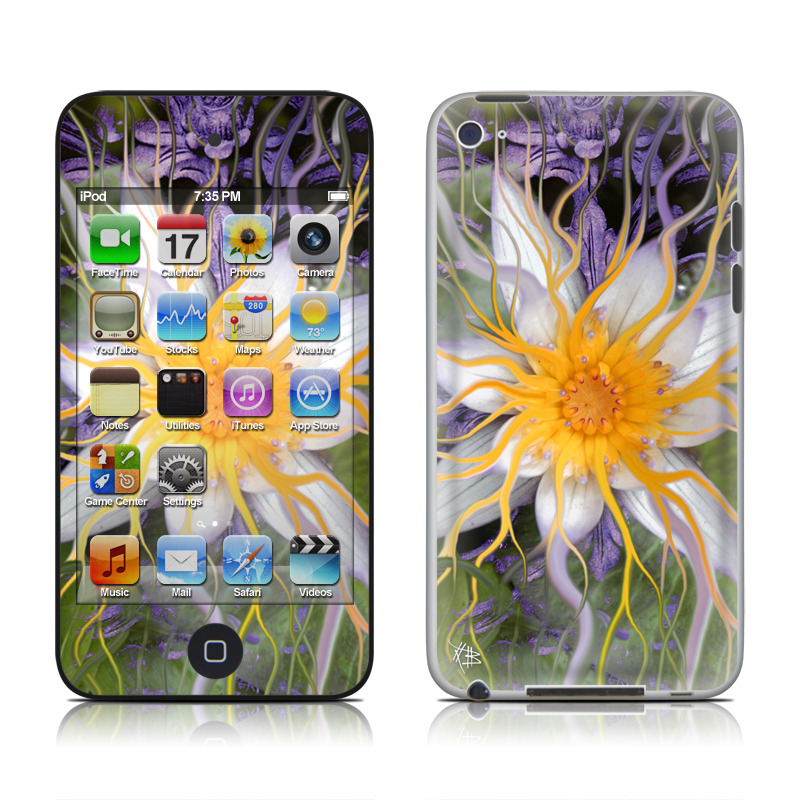 Bali Dream Flower iPod touch 4th Gen Skin