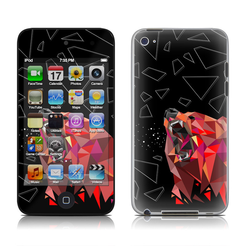 Bears Hate Math iPod touch 4th Gen Skin