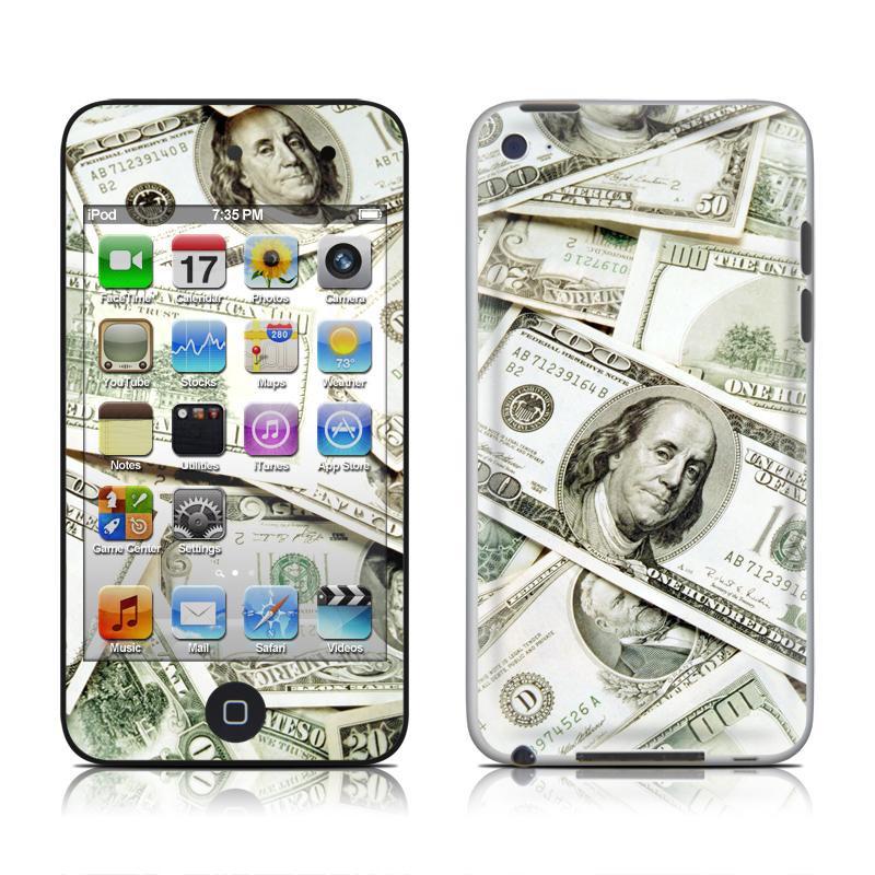 Benjamins iPod touch 4th Gen Skin