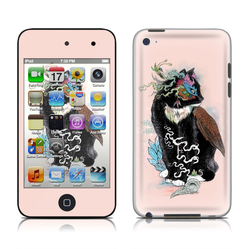 Black Magic iPod touch 4th Gen Skin