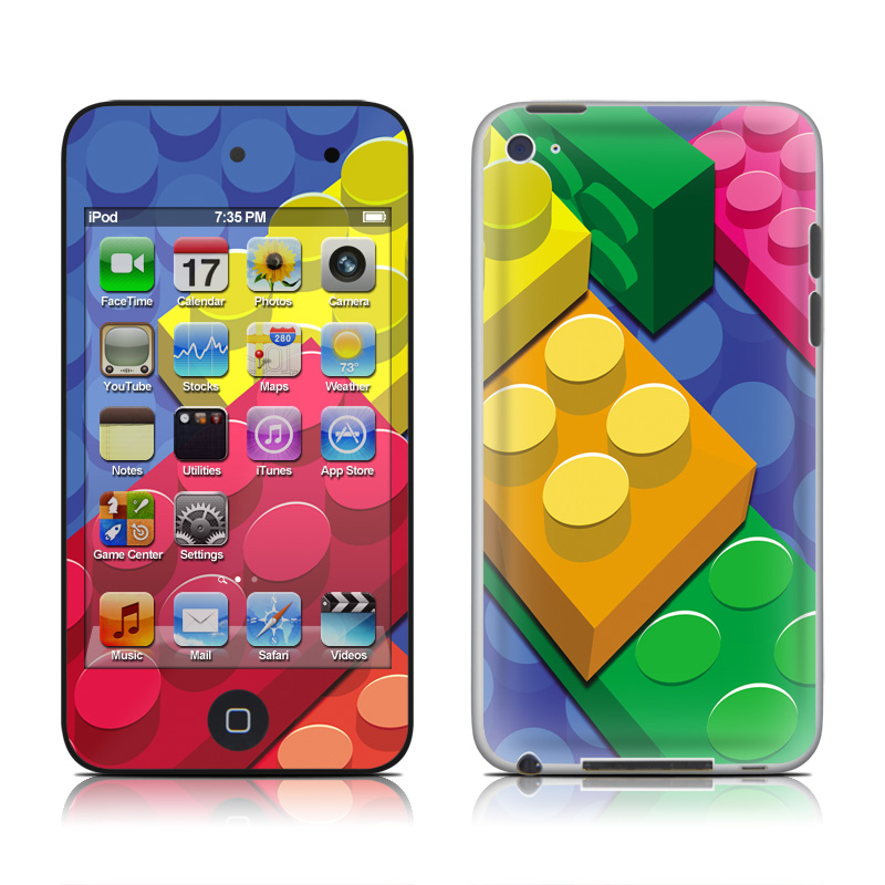Bricks iPod touch 4th Gen Skin