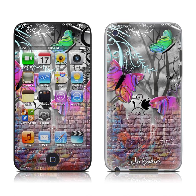 Butterfly Wall iPod touch 4th Gen Skin