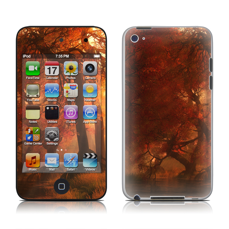 Canopy Creek Autumn iPod touch 4th Gen Skin