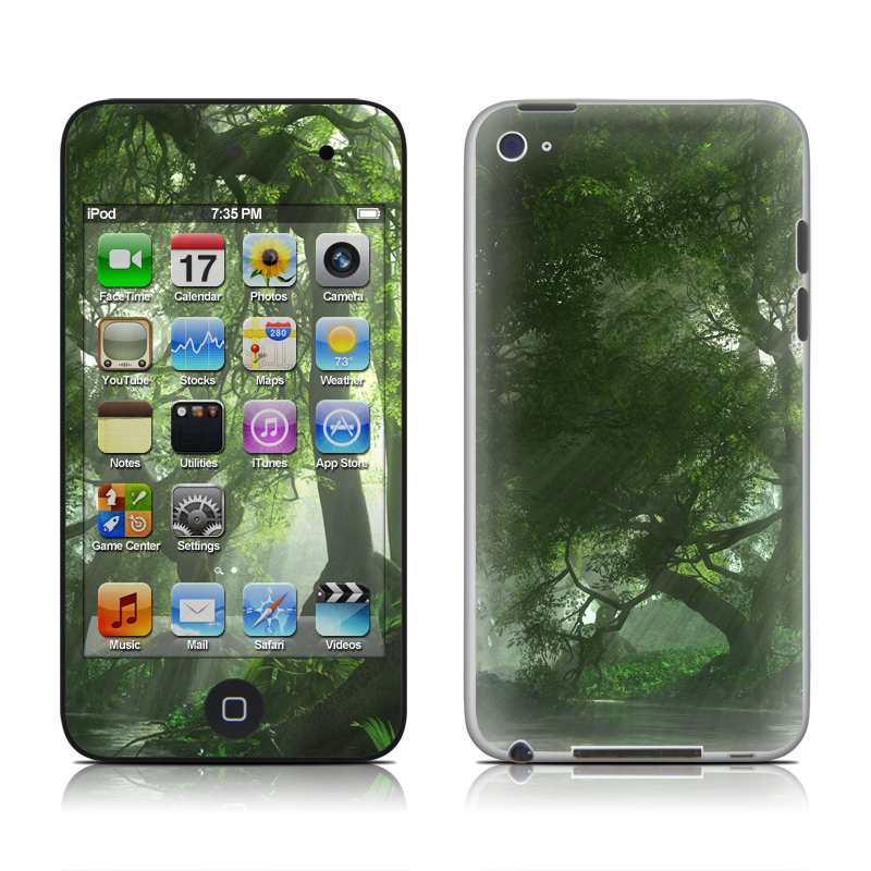 Canopy Creek Spring iPod touch 4th Gen Skin